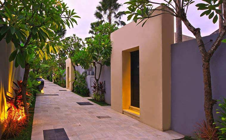 The pathway to your luxurious tranquil stay of spacious oasis